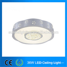 High power ip44 led flush mount ceiling lights 36w round downlight