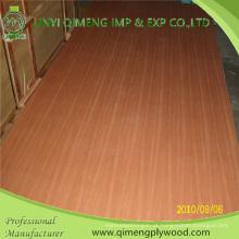 Fornecimento de madeira compensada de 2.7mm Sapele com boa qualidade e preço