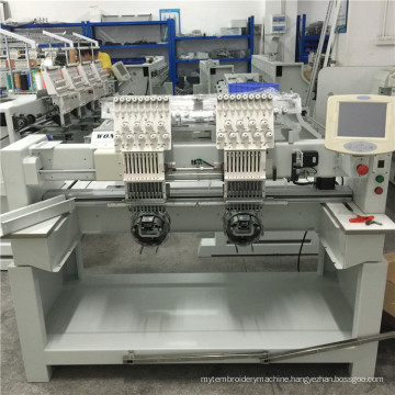 Double Heads Embroidery Machine for Cap & T-Shirt Embroidery