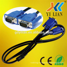 high quality Manufacturer specification male to male extension non-standard 3+2 VGA Cable for computer