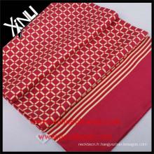 Nouvelle écharpe chinoise d'impression d'écran de conception pour les hommes en soie