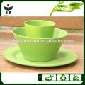 Matériau écologique et matériel de fibre végétale de style pays Type de vaisselle