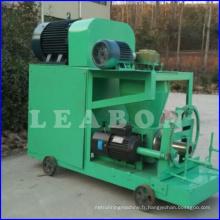 Machine à l'extrusion de briquetage en poudre à poussière de charbon de bois