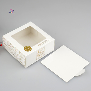 Dessert Packing Food Grade Craft Paper Box