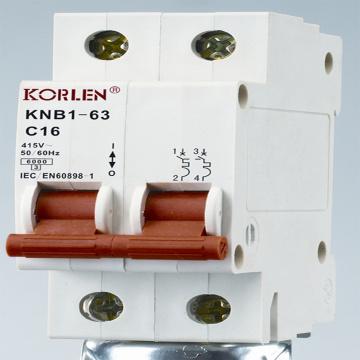 63A Mini Circuit Breaker 240V-415V