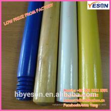 Color pintado de madera manejar / palo de madera mop manejar / color de pintura de madera mango 120cm
