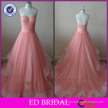 OEM Service Ball Gown Strapless Sweetheart Low Back Evening Dress 2014
