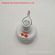 1821 Plastic Emergency Use 5V LED 18650 Li-Battery Rechargeable Camping Bulb
