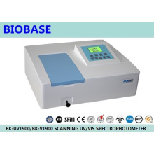 Biobase Laboratory Scanning Single/Double Beam UV/Vis Spectrophotometer