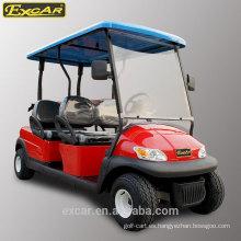 Carrito de golf eléctrico barato de 4 seaters en venta coche con errores de golf