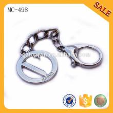 MC498 moda bolsa metal cadeia placa fornecedor