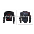 Motorcycle bikers clothes leather suit racing and riding