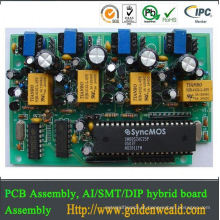 montagem conduzida smd do PWB Conjunto multilayer eficaz na redução de custos da placa do PWB