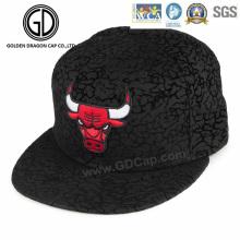 2016 nueva alta calidad Fitting Snapback Cap con bordado de buey