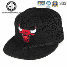 2016 New High Quality Fitting Snapback Cap with Ox Embroidery