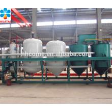 Refinaria de petróleo bruto máquina de refino de óleo de algodão