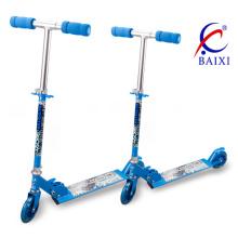 Скейт самокат для детей с голубым цветом (ВХ-2M006)