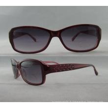 Lunettes de lunette de soleil pour homme, meilleur designer, femme, acrylique Lunettes P01008