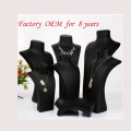Black Oil Polishing Covered Resin Necklace Display Stand (NS-RS-NRN Serie)