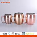 2016 promocionales de alta calidad S / S Copper Mugs al por mayor