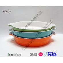 Promotional Round Baking Dish Set