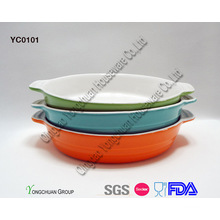 Promotional Round Baking Dish Set