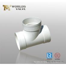 Junta de tubería de PVC de 3 vías