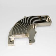 Peças de alumínio CNC banhados a níquel