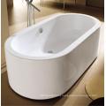 "66"" Cupc One-Piece Oval Ellipse Floor Standing Bath"