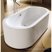 "66"" Cupc One-Piece Oval Ellipse Floor Standing Bath"