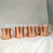 2015-304 S.S Kupfer Tassen Großhandel, Kupfer 400ml Becher