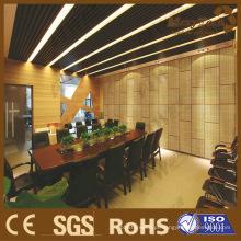 Aplicação de Showroom e sala de reunião, usando o Materail de construção composto de WPC