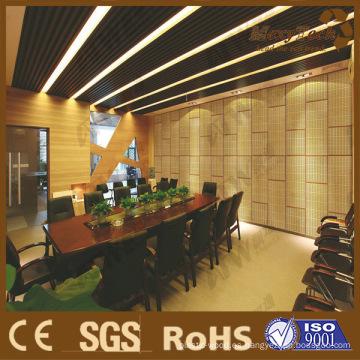 Aplicación de Showroom y sala de reuniones, utilizando WPC Composite Building Materail
