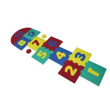 Melors Foam Puzzle Play Mat per Jummping Game 0-10 Early Education Play Mat Non tossico