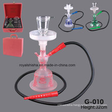 Al Fakher New Design Yiwu All Glass Hookah Glass Smoking Pipes