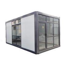 Edificio de aislamiento de casa contenedor