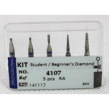 Dental Bur Kit - Student / Beginner′s Diamond Ra. Low Speed