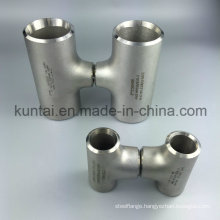 Amse B16.9 Stainless Steel Equal Tee Smls Pipe Fitting (KT0278)