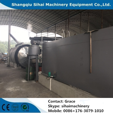 waste plastic to diesel pyrolysis plant