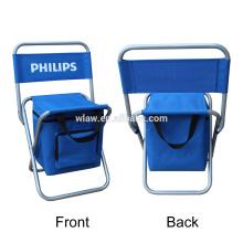 cadeira portátil refrigerador de praia