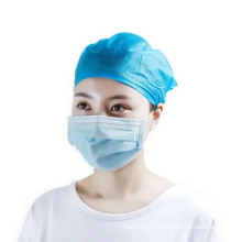 Tapas de capucha acolchadas quirúrgicas médicas no tejidas desechables