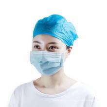 Одноразовые медицинские хирургические нетканые крышки головки капюшона начес