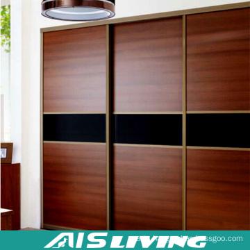 fashion Wardrobe Bedroom Cabinets, Modern Large Wood Closet Design (AIS-W458)