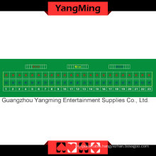 Baccarat Table Layout 23 P Green (YMBL24G)