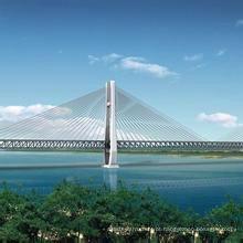 Construção e design de ponte de estrutura de aço leve (wz-879445)