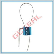 A vedação do cabo de segurança qualidade superior dupla trava