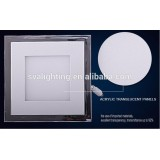 led surface mounted led panel light 18W