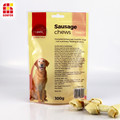 Wurst kaut Pet Food Verpackung Stand-Up-Beutel