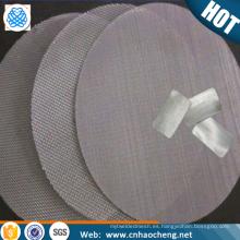 5 10 20 micron monel nickel copper alloy sintered mesh fluidization plate/sheet