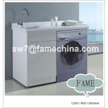 2012 hot design grey laundry cabinet